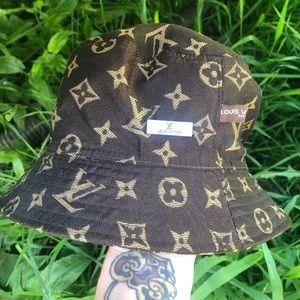 Authentic Louis Vuitton bucket hat